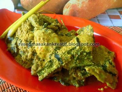 Opor ayam enak yang merupakan kuliner khas Manado Sulawesi Utara ini mempunyai khas cita r RESEP AYAM TUTURUGA OPOR ENAK KHAS MANADO