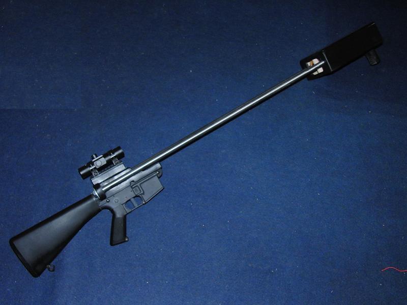 RUB-15 slingshot crossbow for M16/AR-15 lower receiver