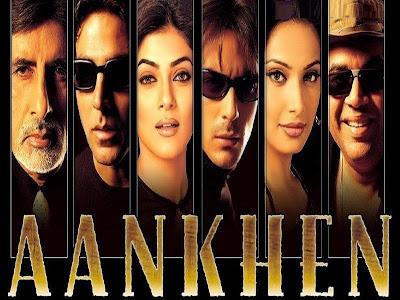 Poster Of Hindi Movie Aankhen 2002 Full HD Movie Free Download 720P Watch Online