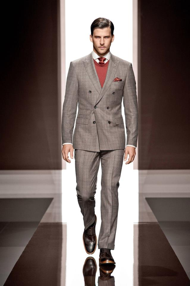 Boss Mens Three Piece Suit Selection Fall 2012