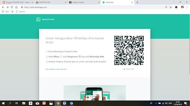 WhatsApp Web dan Tata Cara Penggunannya