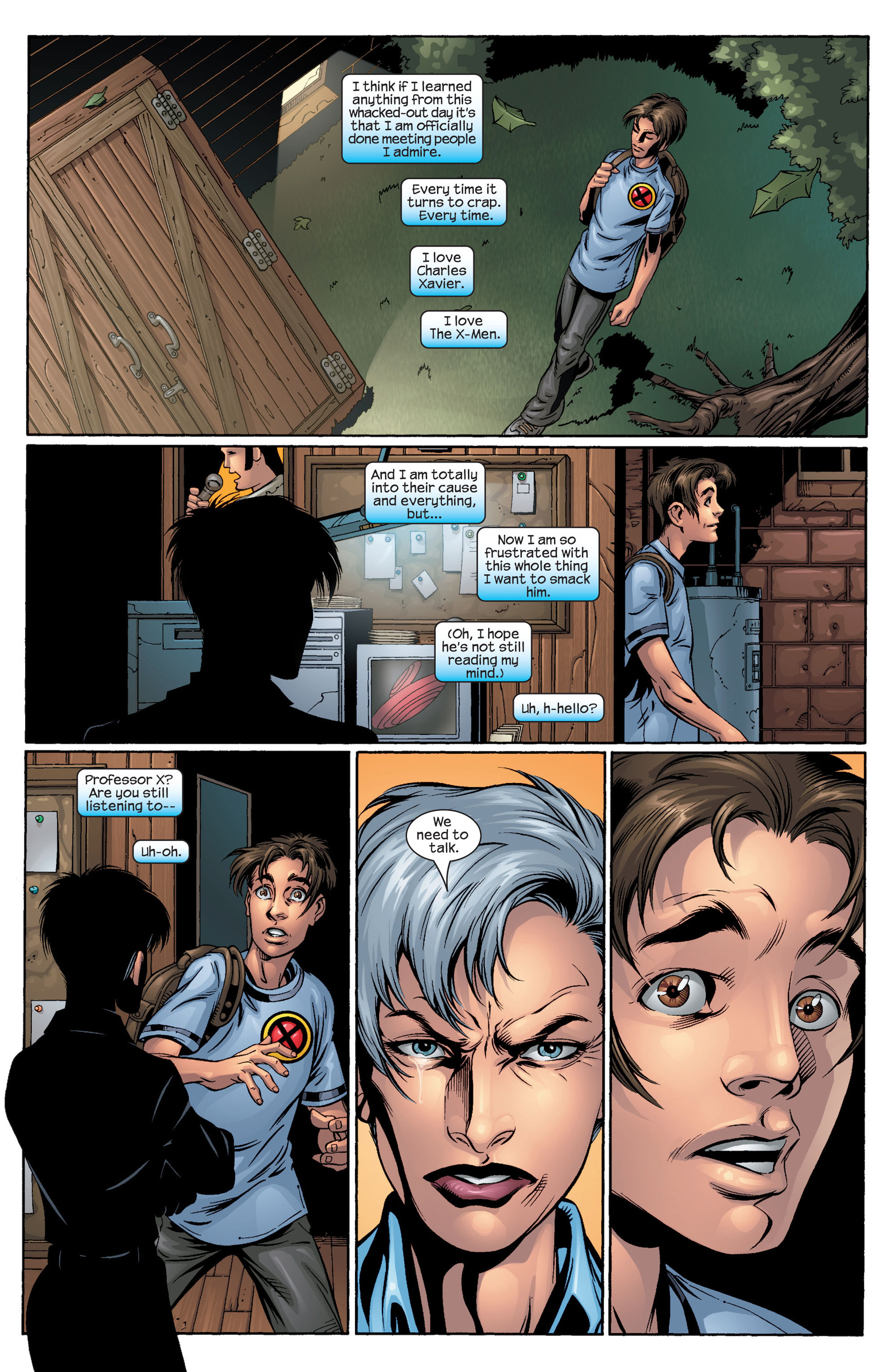 Read online Ultimate Spider-Man (2000) comic -  Issue #44 - 22