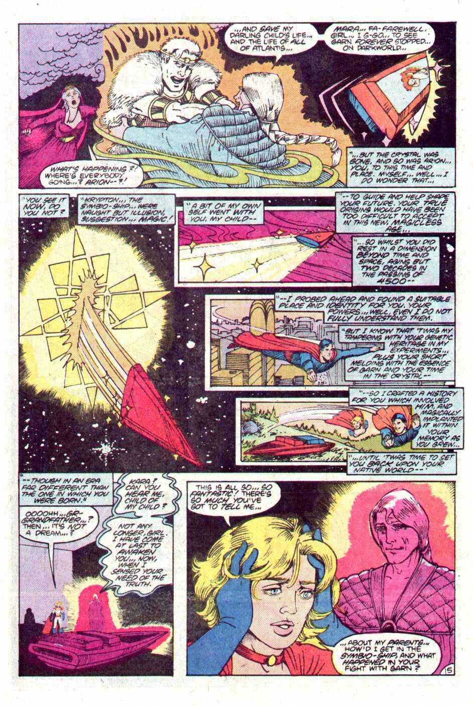 Read online Secret Origins (1986) comic -  Issue #11 - 16