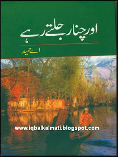 Aur Chinar Jaltay Rahay by A Hameed Novel PDF
