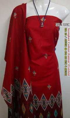 SCR 1009C : SONGKET COTTON RATNA, PRINTED