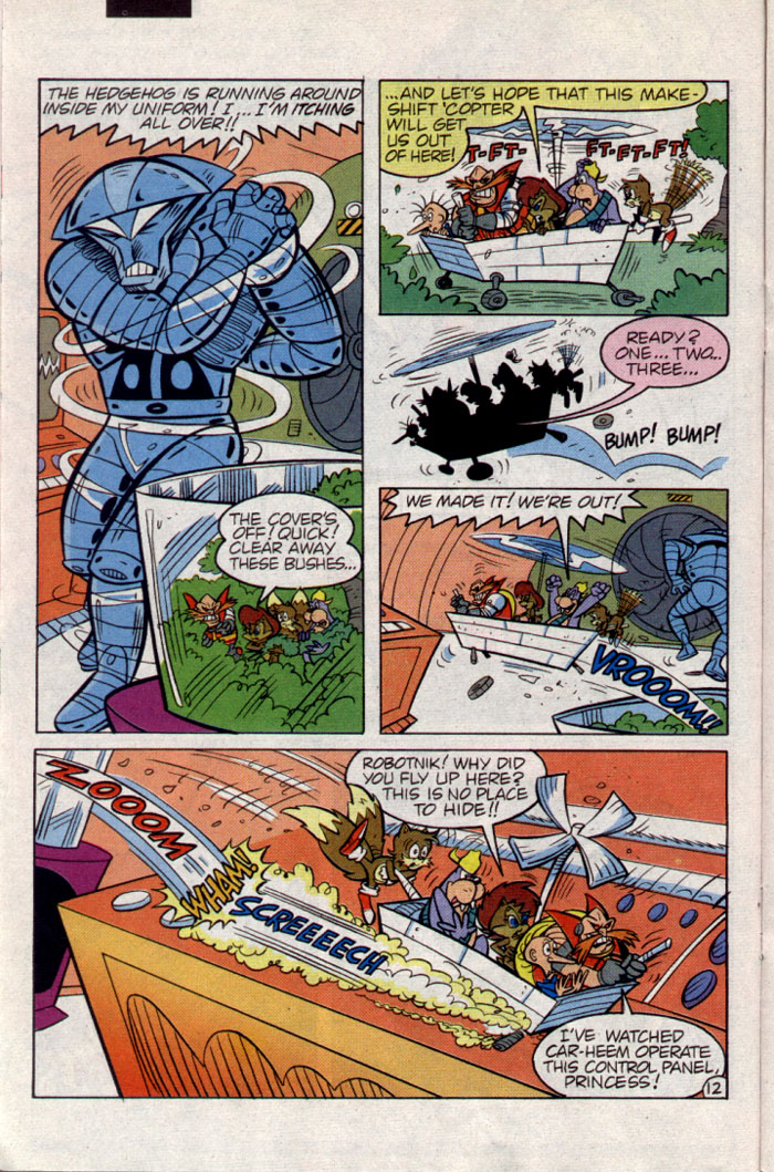 Read online Sonic The Hedgehog comic -  Issue #23 - 13