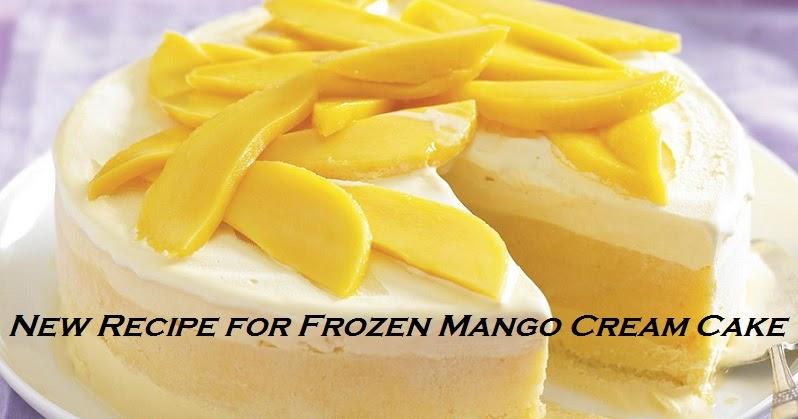 Fruit Pulp Exporters: New Recipe for Frozen Mango Cream Cake