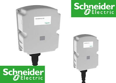 Schneider battery-powered wireless data logger
