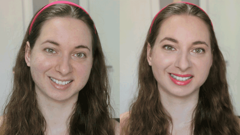 Summer Get Ready With Me Wet Highlight + Orange Lips