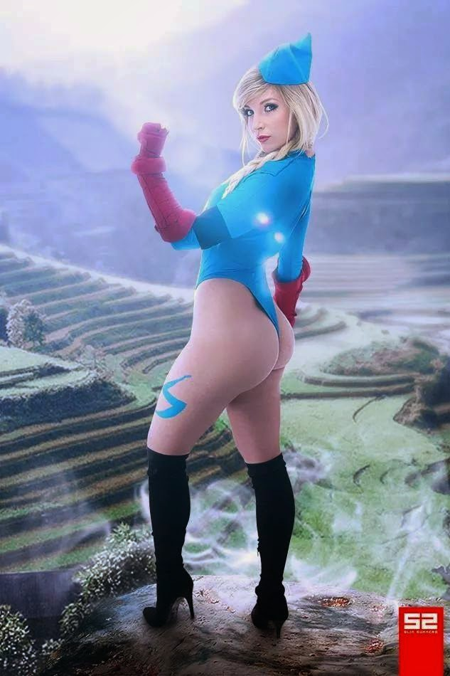 Cosplay Butterfly Street Fighter