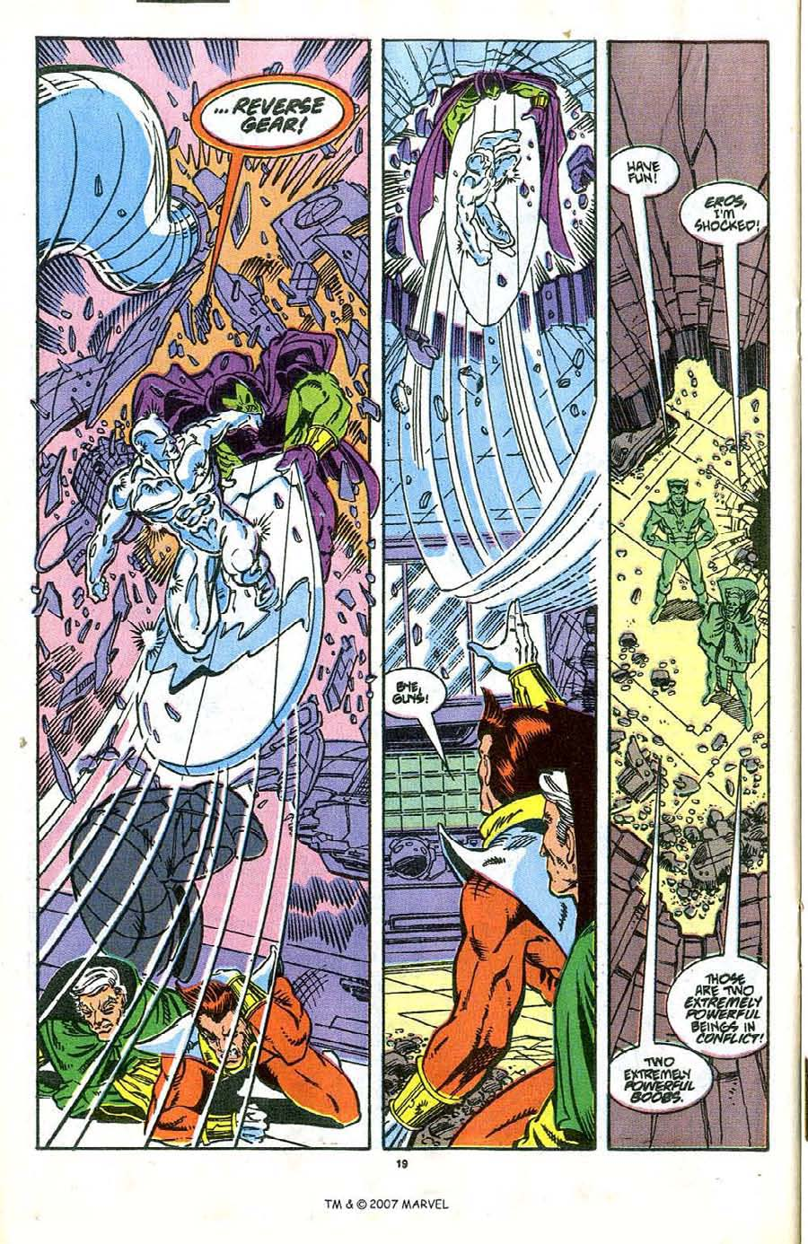Read online Silver Surfer (1987) comic -  Issue #37 - 20