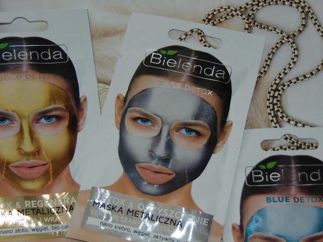 Bielenda, Silver Detox - Detoksykująca maska metaliczna do cery mieszanej i tłustej