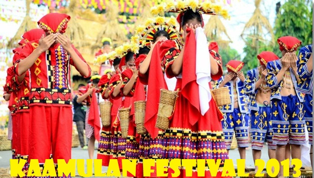 Kaamulan Festival 2013 Schedule Of Events