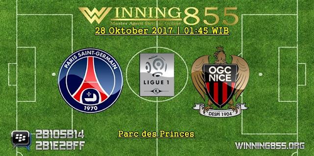 Prediksi Skor PSG vs Nice | 28 Oktober 2017