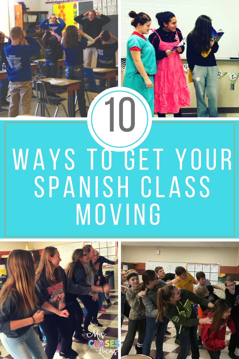 Best of 2017 #1: 10 Ways to Get Your Spanish Class Moving