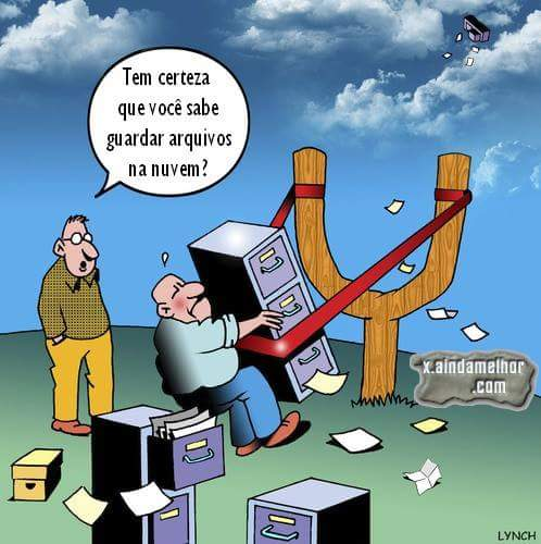 guardar arquivos na nuvem