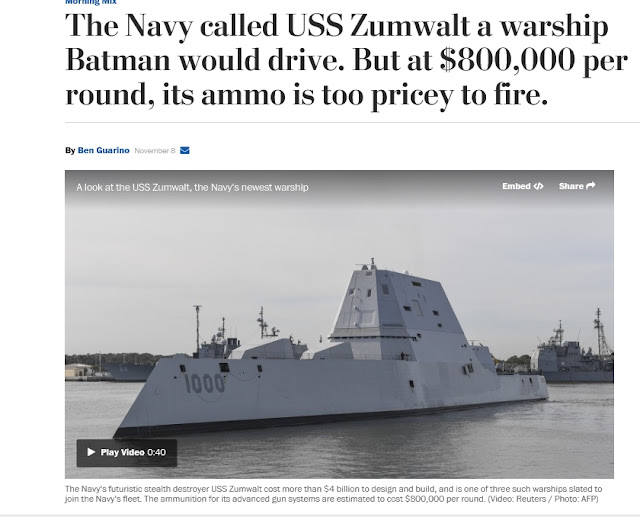 https://www.washingtonpost.com/news/morning-mix/wp/2016/11/08/the-navy-called-uss-zumwalt-a-warship-batman-would-drive-but-at-800000-per-round-its-ammo-is-too-pricey-to-fire/