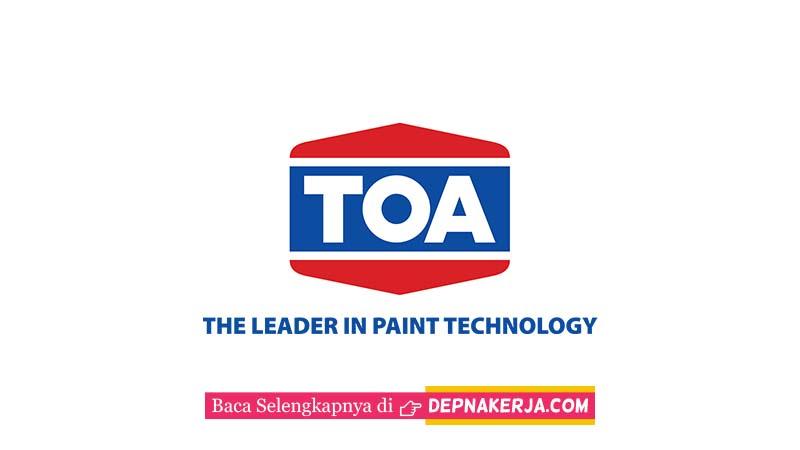 Lowongan Terkini PT TOA Coating Indonesia