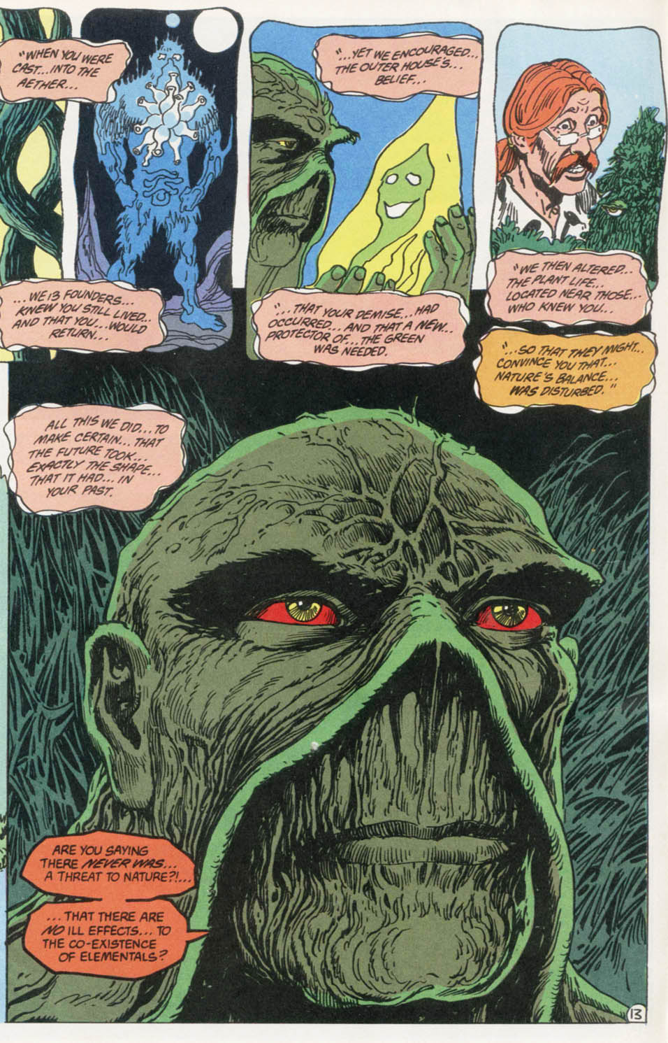 Swamp Thing (1982) Issue #100 #108 - English 14