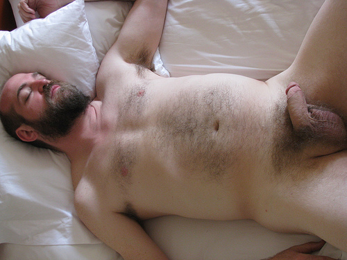 Naked men sleeping straight free gay since