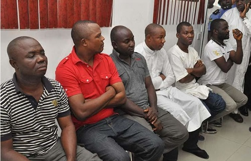 The Faces Of SACKED Police Inspector, 5 Sergeants Who Helped Wike With Firearms During Rivers Rerun