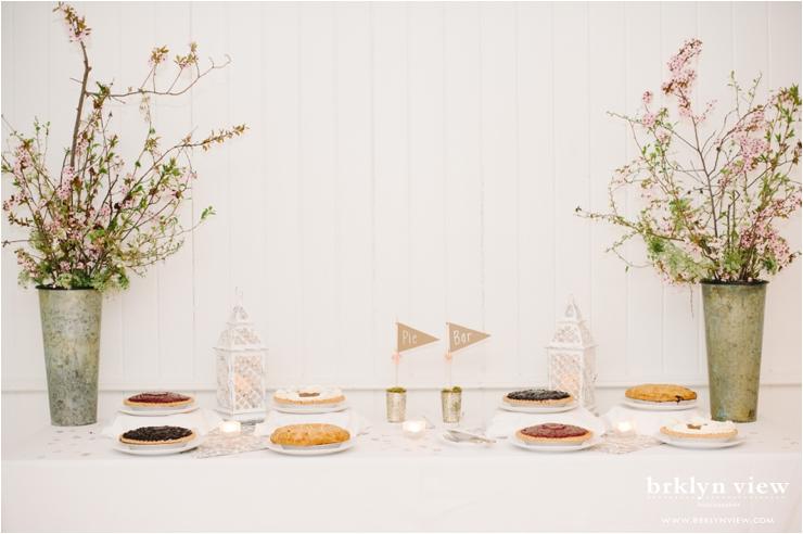 Pie Bar Wedding Photos