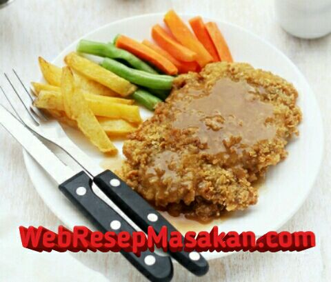 Chicken steak saus lada hitam, Resep Chicken Steak Lada Hitam, Cara membuat chicken steak,