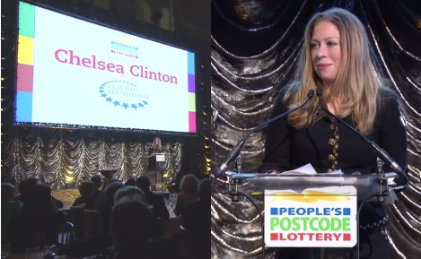 Chelsea Clinton is VERY creepy!
