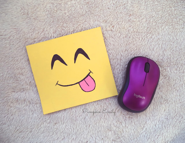 DIY Emoji Mouse Pad