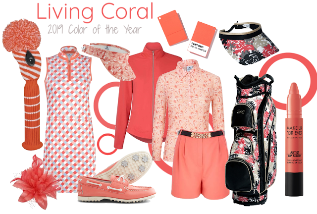 Golf in Living Coral: On Course in the 2019 Color of the Year