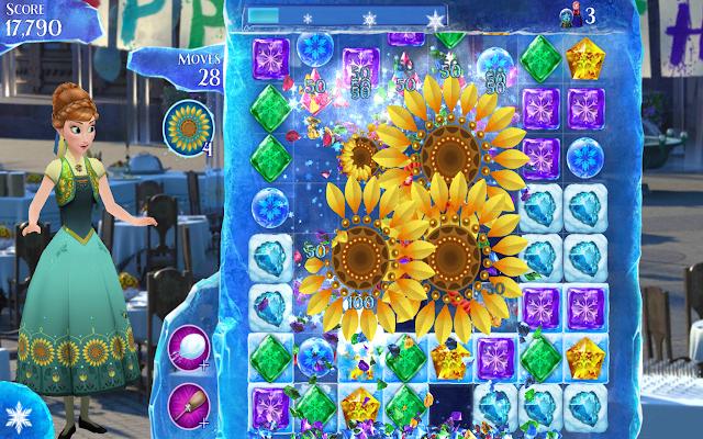 Frozen Free Fall v4.3.2 Apk + Datos SD Mod [Vidas Ilimitadas / Desbloqueado]
