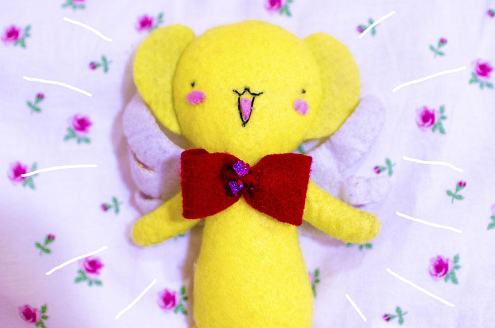 Handmade Kero Chan Plushie - Cardcaptor Sakura