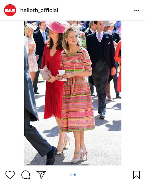 Cressida Bonas Shoes at the Royal Wedding
