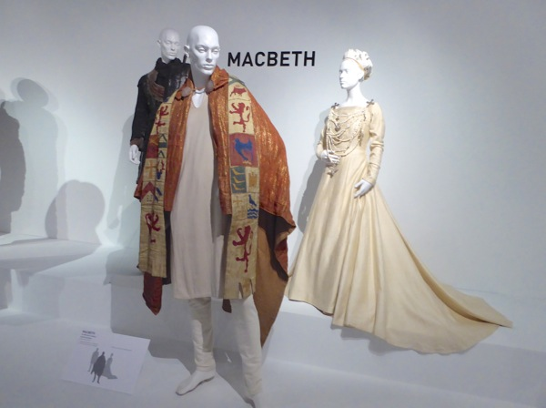 Macbeth 2015 film costume exhibit FIDM Museum LA