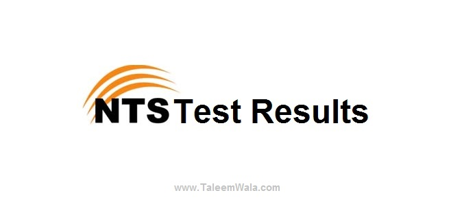 NTS Result for Educators Jobs 2018 - Tests Held on 27, 28, 29, 30 an 31 December 2017
