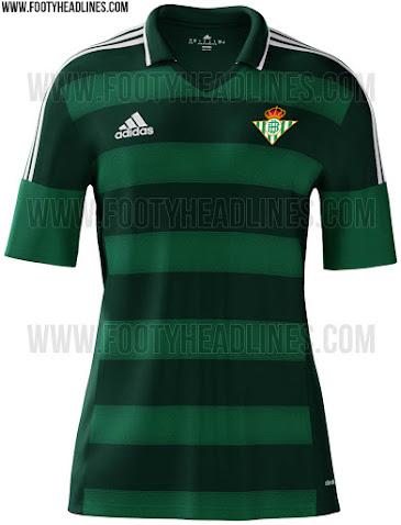 Pintura Limpiar el piso Registro  Primeras imágenes de la camisetas Adidas del Betis 2015/16 – La Jugada  Financiera