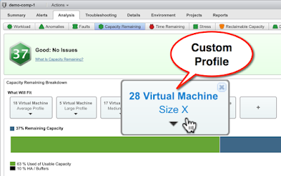 VMware vROps - Exposing and reporting on VM Custom Profiles with API and Super Metrics