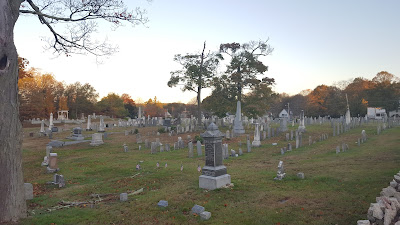 Take an Historic Cemetery Walk on Halloween