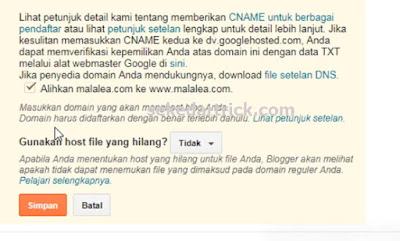 Redirect Blogspot