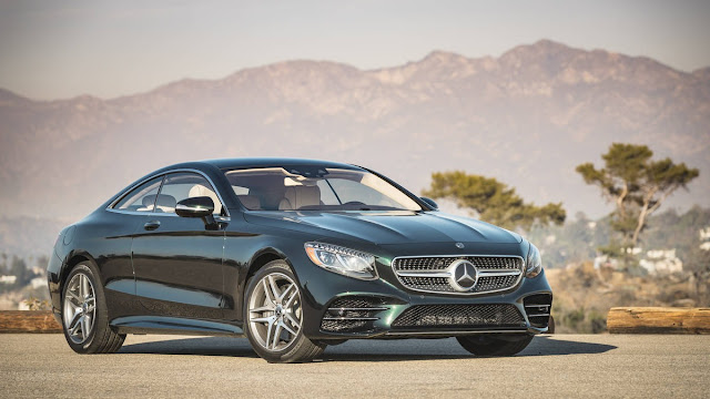 2018 New Mercedes-benz S560 comfortable front view