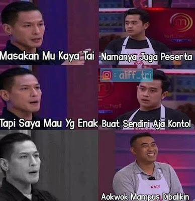 Meme MasterChef Indonesia 2019 - Buat aja makanannya sendiri