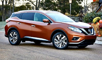 Nissan Murano 2017 side right