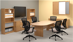 Offices To Go Walnut Conference Furniture