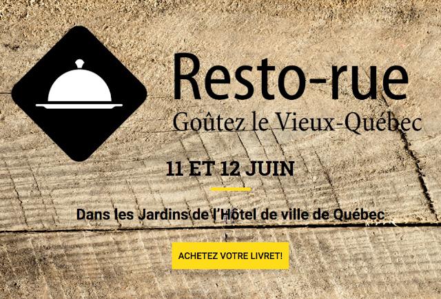 Resto-Rue | Goûtez le Vieux-Québec