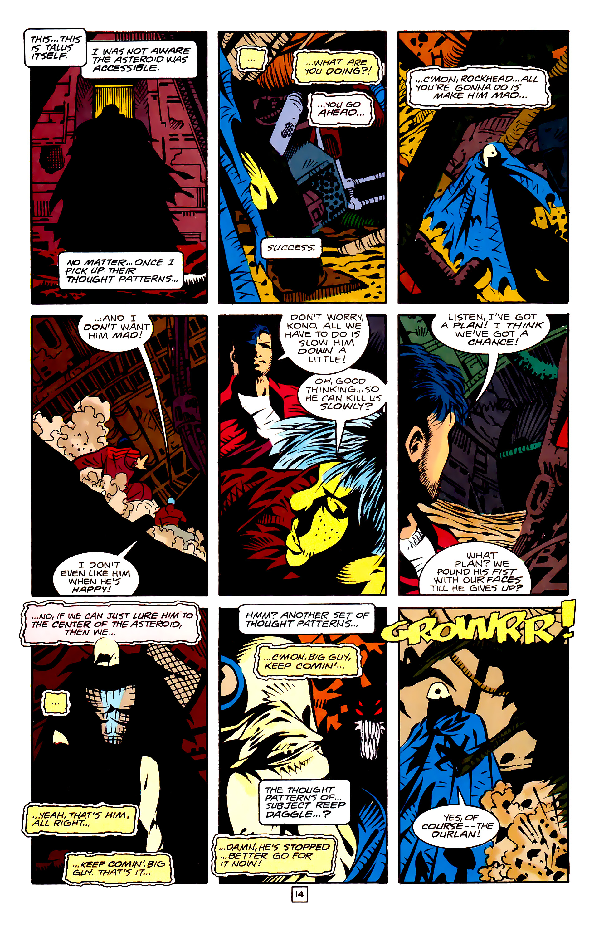 Legion of Super-Heroes (1989) 27 Page 14
