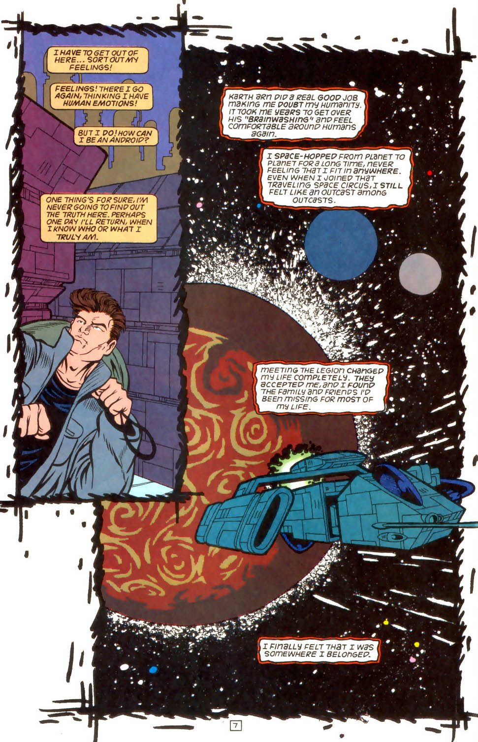 Legion of Super-Heroes (1989) 52 Page 7