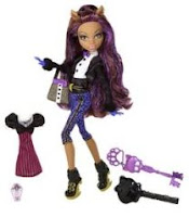 The Sweet 1600 Doll - Clawdeen Wolf doll