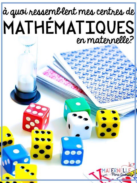 Wanting to add some math centres to your daily routine, but short on time? This blog post discusses how you can set up and run free choice math centres in your French primary classroom!