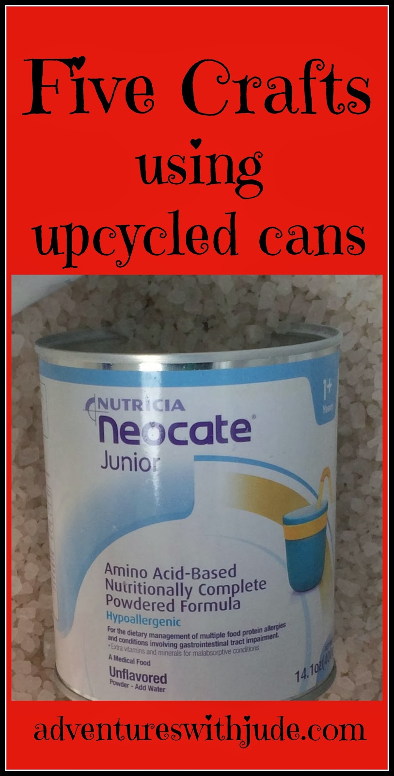 Five #Crafts using #upcycled cans