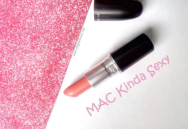 MAC Kinda Sexy swatch review India